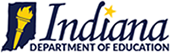 logo of indiana department of education